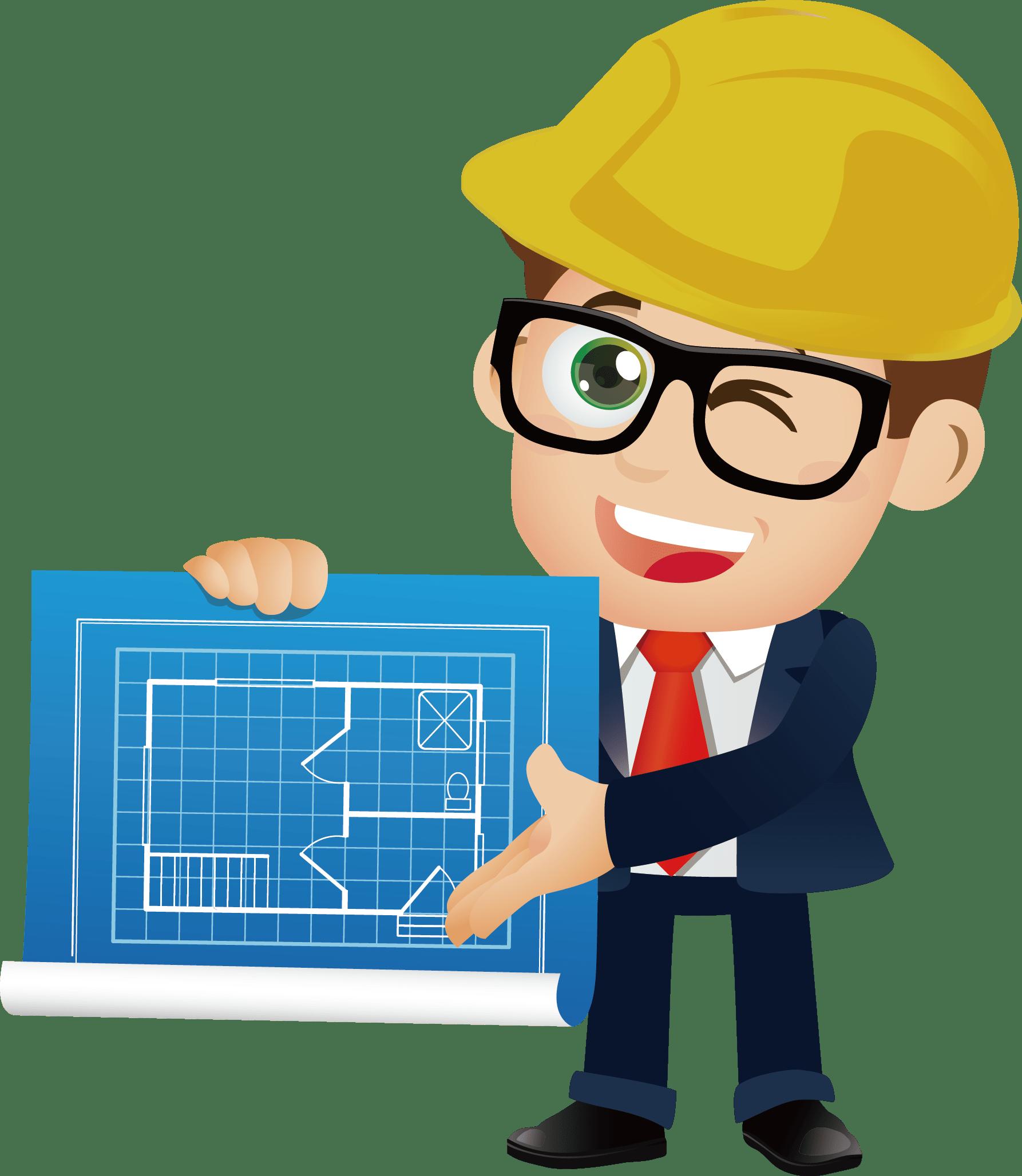 інженер з планом
